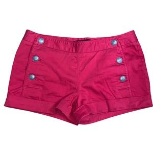 Aritzia Talula Red Starboard Sailor Shorts Size 6